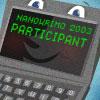 NaNoWriMo 2003 Participant badge