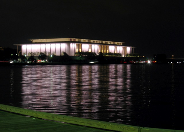 Kennedy Center from Washington Harbor